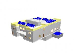 Cubierta Solar Edificio