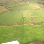 Vista desde Aerogenerador, Irlanda